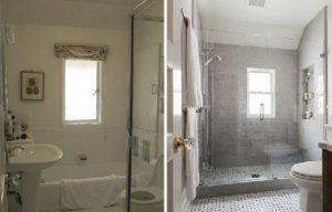 Salle de bain avant après sur Rambouillet