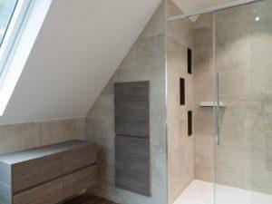Salle de bains sur sannois