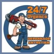 Logo d'un plombier sur Saint Brice sous forêt
